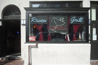 Raven Grill - Dive Bar in Washington, DC.