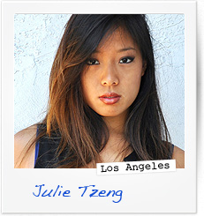 Julie Tzeng, Los Angeles