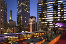 Rooftop Bar at The Standard Downtown - Hotel Bar | Rooftop Bar | Rooftop Lounge in Los Angeles.