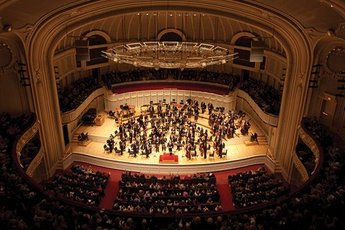 Orchestra Hall at Symphony Center - Concert Venue in Chicago.