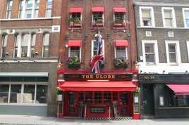 The Globe - Pub in London.