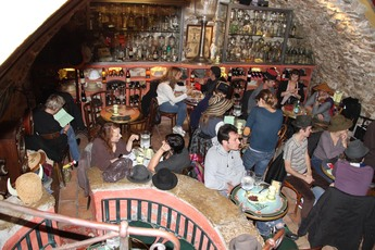 Absinthe Bar in the French Riviera