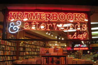 Kramerbooks & Afterwords Café - Bar | Café | Culture | Live Music Venue | Bookstore in Washington, DC.