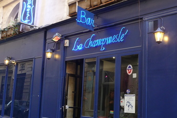 La Champmeslé - Gay Bar in Paris.