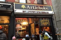 Artichoke Basille's Pizza - Pizza Place in New York.
