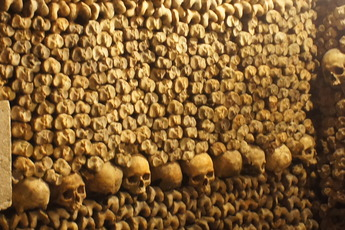 The Catacombs - Landmark in Paris.