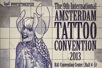 The 9th International Amsterdam Tattoo Convention 2013 May