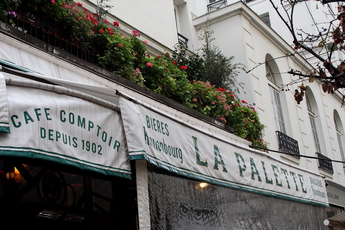 La Palette - Café | Historic Bar in Paris.