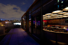 CATCH Roof - Lounge | Rooftop Bar in New York.