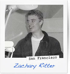 Zachary Ritter, San Francisco
