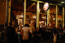 In 't Aepjen - Historic Bar in Amsterdam.