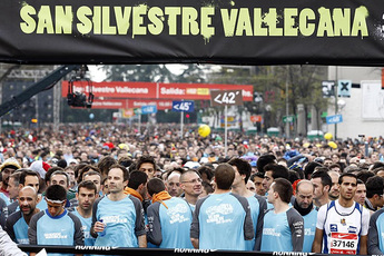 San Silvestre Vallecana - Running in Madrid.