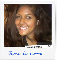 Janna  La Barrie, Washington, DC