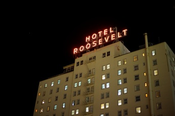 The Roosevelt Hotel in the heart of Hollywood