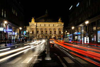 Palais Garnier - Theater in Paris.