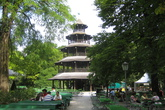 Chinese Tower - Beer Garden | Drinking Activity | Landmark in Munich.