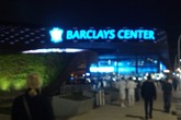 Barclays Center before Sensation Party.