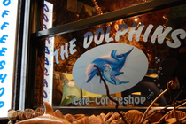 The Dolphins - Coffeeshop in Amsterdam.
