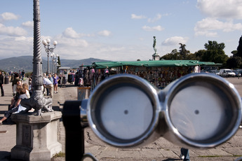 Piazzale Michelangelo - Landmark | Nightlife Area | Outdoor Activity | Square in Florence.