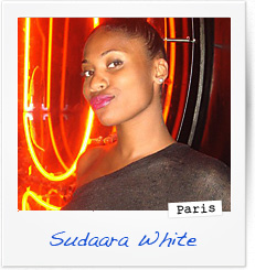 Sudaara White, Paris