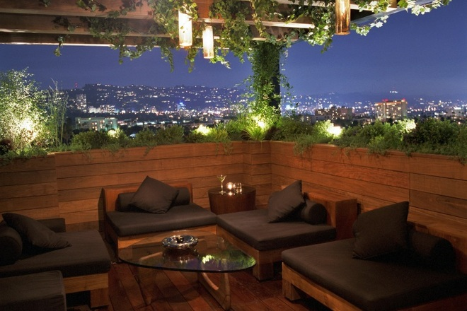 Look at that beautiful view of Beverly Hills from the ABH at the Thompson!!