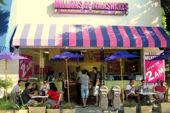 Millions of Milkshakes - Café | Ice Cream Shop in Los Angeles.
