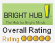 bright hub overall rating of five