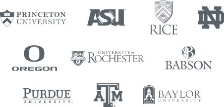 Trusted by top business schools across the U.S.