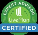 LivePlan Expert Advisor Certified