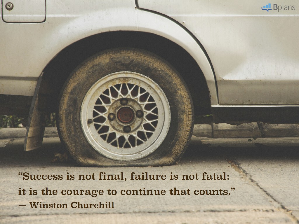 """Success is not final, failure is not fatal: it is the courage to continue that counts."" — Winston Churchill; Tweet this!"