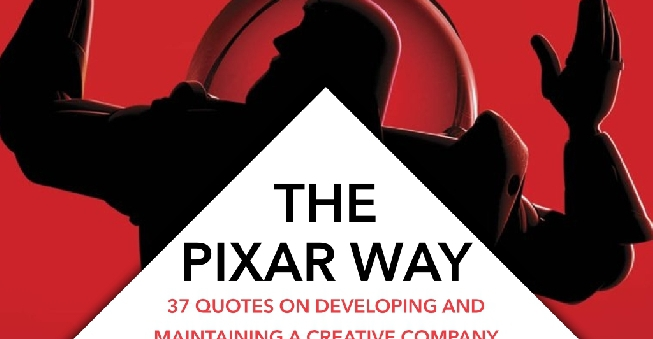 The Pixar Way 37 Quotes On Developing And Maintaining A Creative