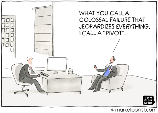 Pivot Tom Fishburne Marketoonist