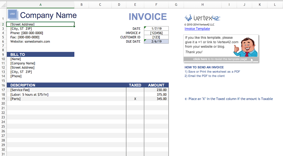 free invoice templates to help you get paid faster