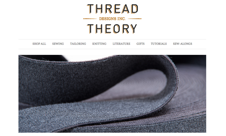 Thread Theory brand aesthetic example