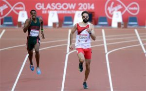 Martyn Rooney at the Commonwealth Games in 2014. Image via The Telegraph.