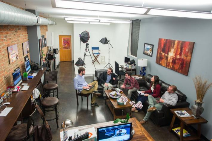Entrepreneur's Workspaces: What Makes a Productive, Inspiring Office?