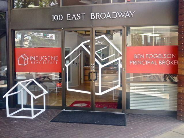 InEugene Real Estate building entrance