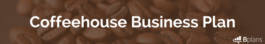 Coffeehouse business plan example