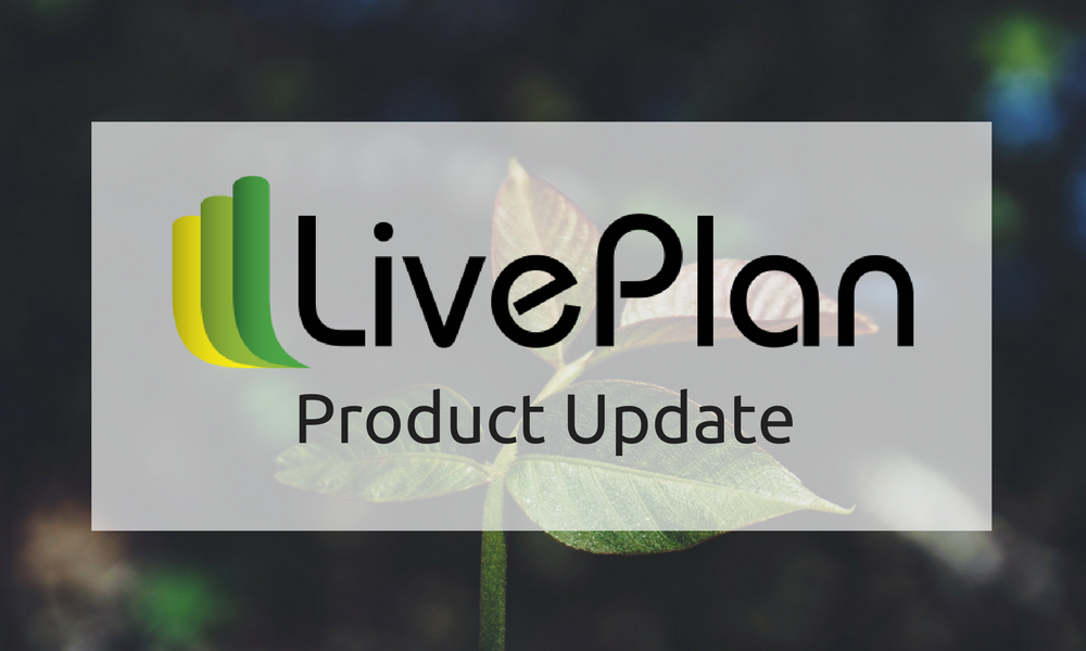 What's New in LivePlan: Copy Forecast Items, Links, and GDPR