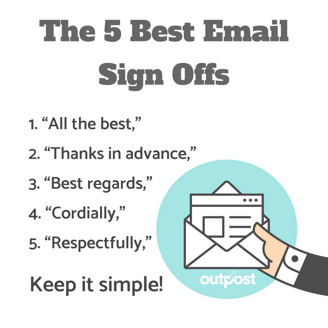 5 Best Business Email Sign Offs for Busy Professionals