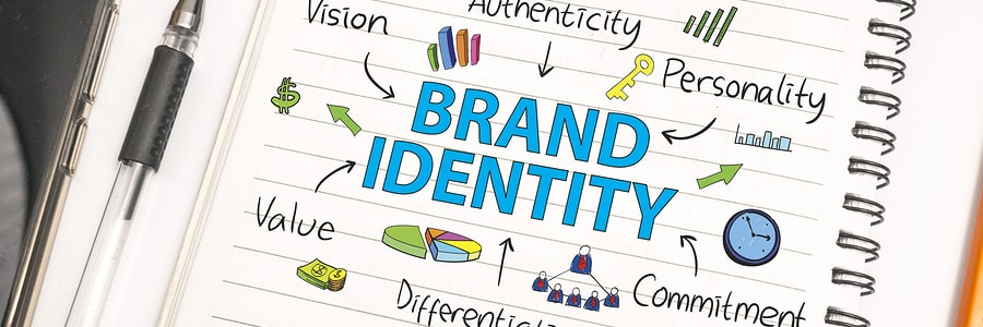 creative illustration depicting the brand identity of a business