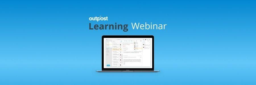 Have you been struggling to maintain customer expectations through email? Sign up to learn how to make it your best customer service tool with Outpost.