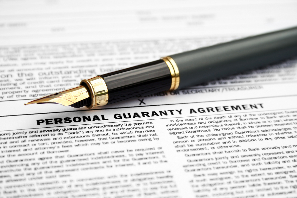 When (and Why) Should You Sign a Personal Guarantee to