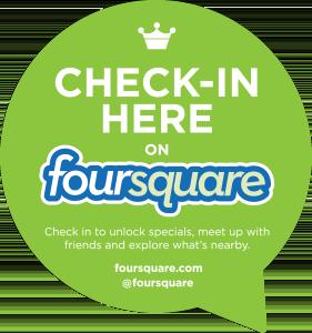 Foursquare-Check-In