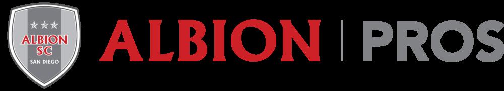 Albion pros horizontal logo