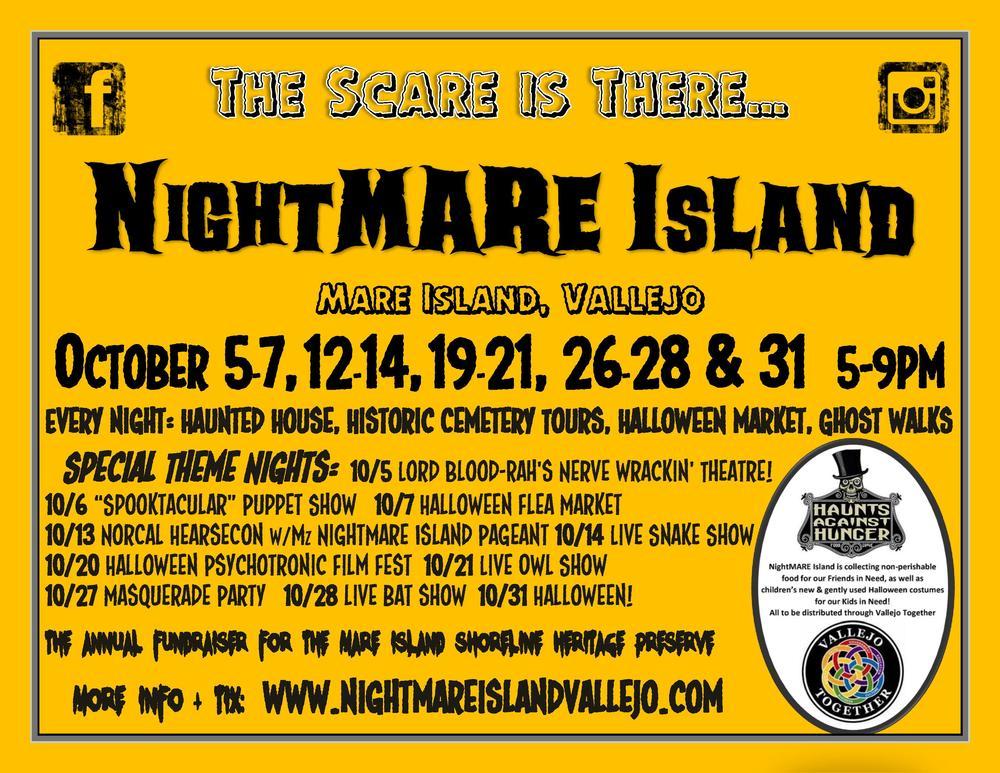 Nightmare 20island 20flyer 202018 20orange 20background