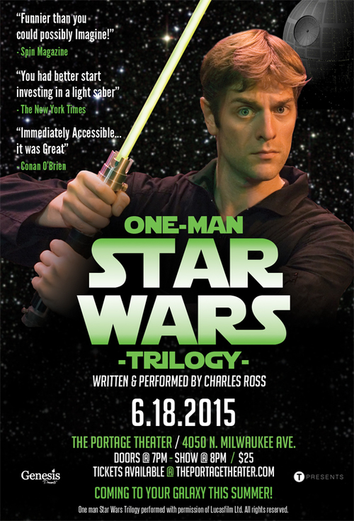 One-Man Star Wars Trilogy  poster