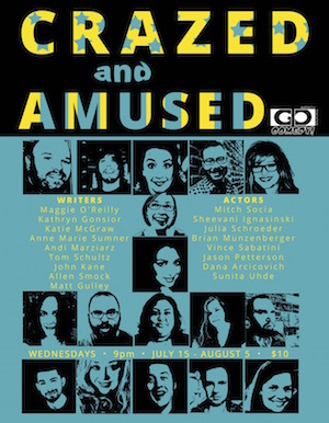 Crazed & Amused poster