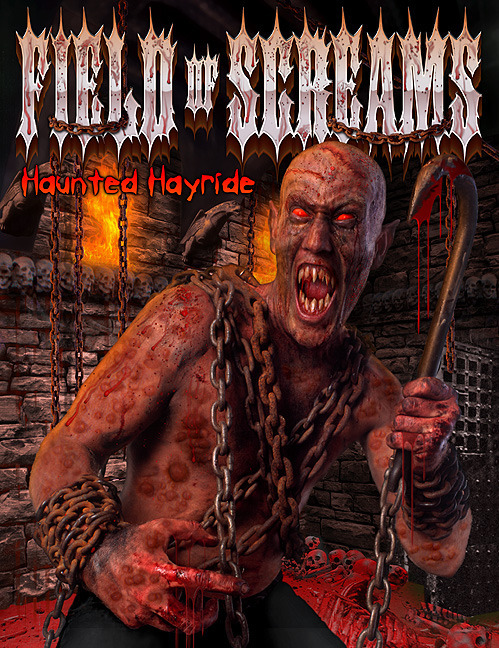 Field of Screams 2015- 20th Anniversary -- Three Haunted Attractions for the price of One!!! image
