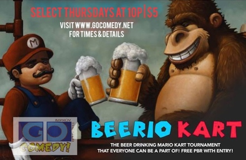 Beerio Kart poster